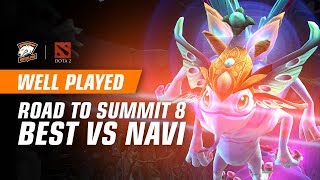 WELL PLAYED | Road to Summit 8. Best of qualifiers finals vs NaVi