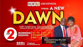 Shiloh 2017 - A NEW DAWN Day 2 (Morning Session - Hour Of Visitation) 120617