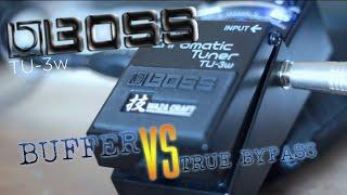 BOSS WAZA: a Secret Tone Enhancement?