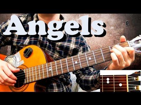 Guitar chords: Robbie Williams - Angels