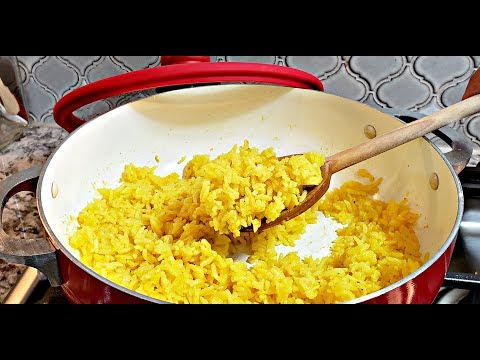 Easy Yellow Rice Recipe | How To Make Yellow Rice | HD Cooking Video