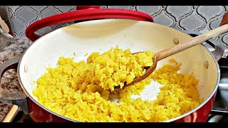 Easy Yellow Rice Recipe  How To Make Yellow Rice  HD Cooking Video