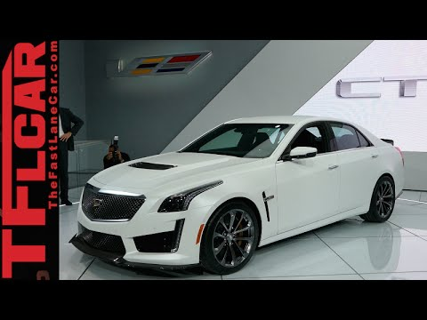 2016 Cadillac Cts V Almost Everything You Ever Wanted To Know