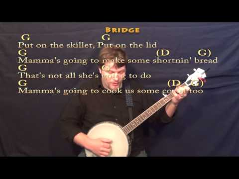 Shortnin Bread - Banjo Cover Lesson with Chords/Lyrics - YouTube