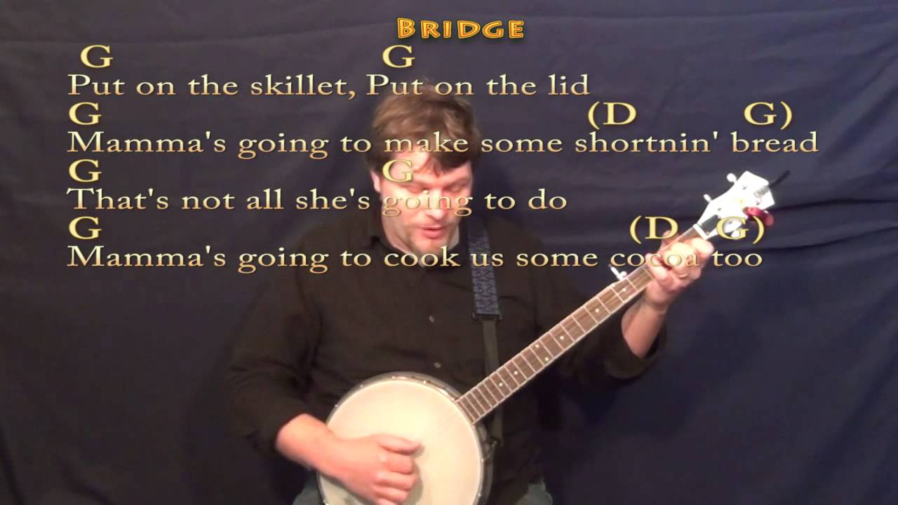 Shortnin bread banjo cover lesson with chordslyrics youtube shortnin bread banjo cover lesson with chordslyrics hexwebz Gallery