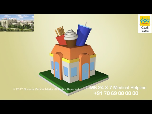 Treatment for Obesity  Life Style Changes (Hindi) - CIMS Hospital