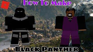 Come fare Pantera Nera in roblox supereroe vita 2