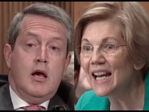 Download Youtube: HEATED EXCHANGE: Elizabeth Warren DESTROYS Trump's Federal Reserve Nominee