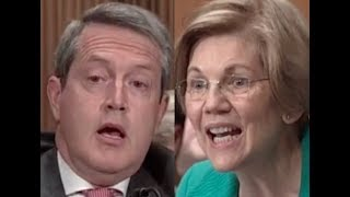 HEATED EXCHANGE: Elizabeth Warren DESTROYS Trump