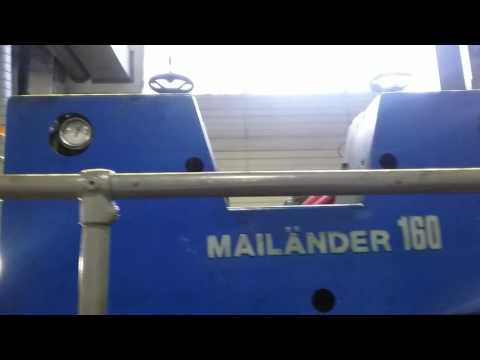 One colour Printing Press Type Mailander 160