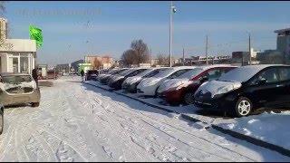 -19С, мороз, зима и электромобиль Nissan Leaf. Тест-драйв, купить.