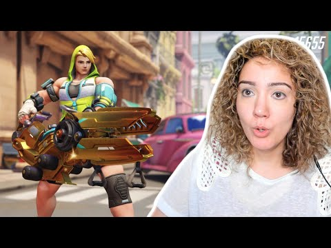Clutch Game In Busan! - Overwatch Competitive as Tank