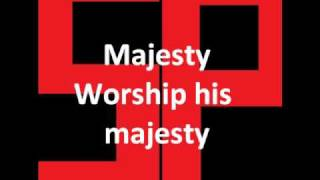 Majesty (Worship his Majesty)