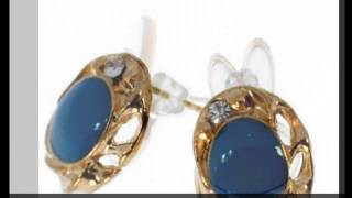 stud earrings wholesale from China fashion jewelry supplier -OK Charms Thumbnail