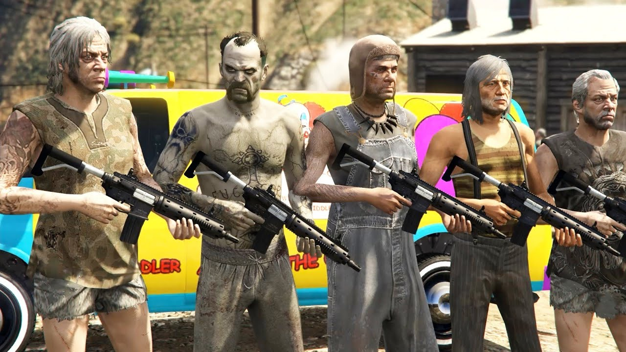 GTA 5 - How To Join the Altruist cult Gang in GTA 5! (Secret Gang Missions)