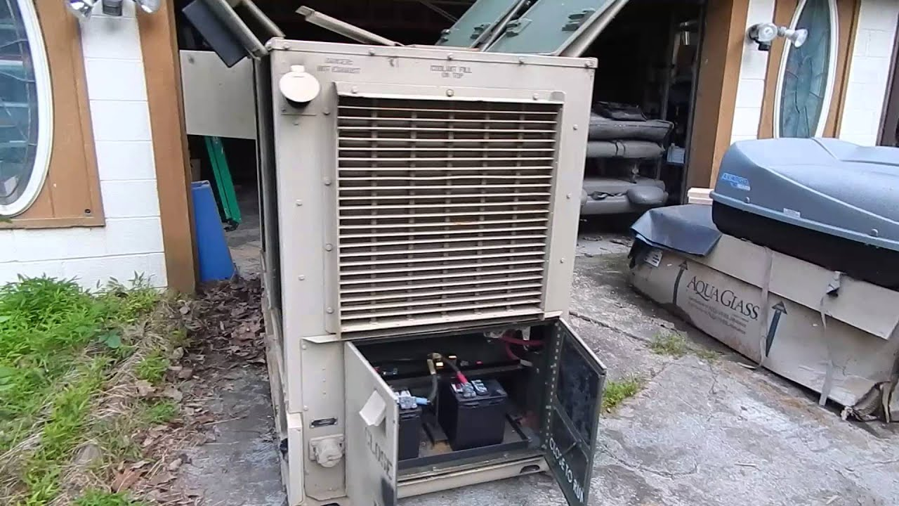 FOR SALE 15 KW 400 HZ Diesel Generator