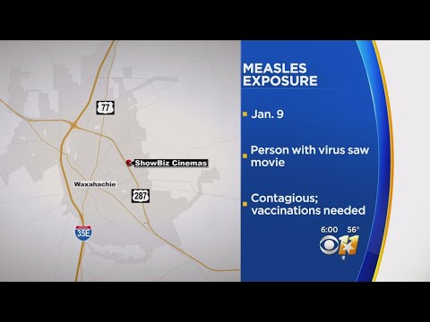 Possible Measles Exposure At Waxahachie Movie Theater