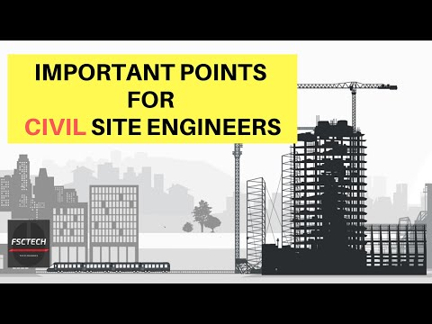 16 Important Points for Civil Site Engineers to Remember