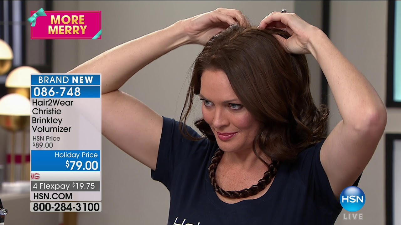 Hsn Christie Brinkley Hair Extensions Skincare 10102017 07