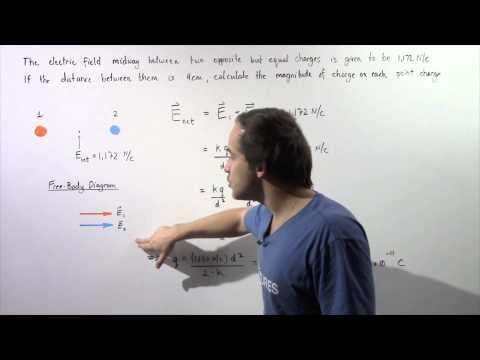 Electric Field Example # 1