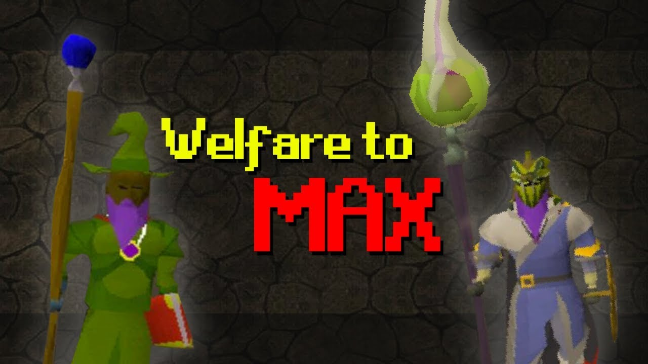 Every PK I get I upgrade Gear (Welfare to Max)