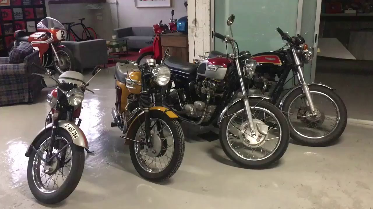 29d1856877 Triumph Collection at Cafe Racer SSpirit - YouTube
