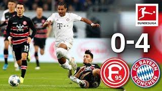 Coutinho, Gnabry & Co Score in Bayern Goalfest I Fortuna Düsseldorf vs. FC Bayern München I 0-4