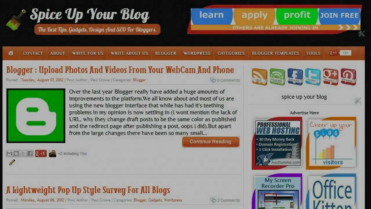 Use AdSense On Blogger Dynamic Views Templates - YouTube