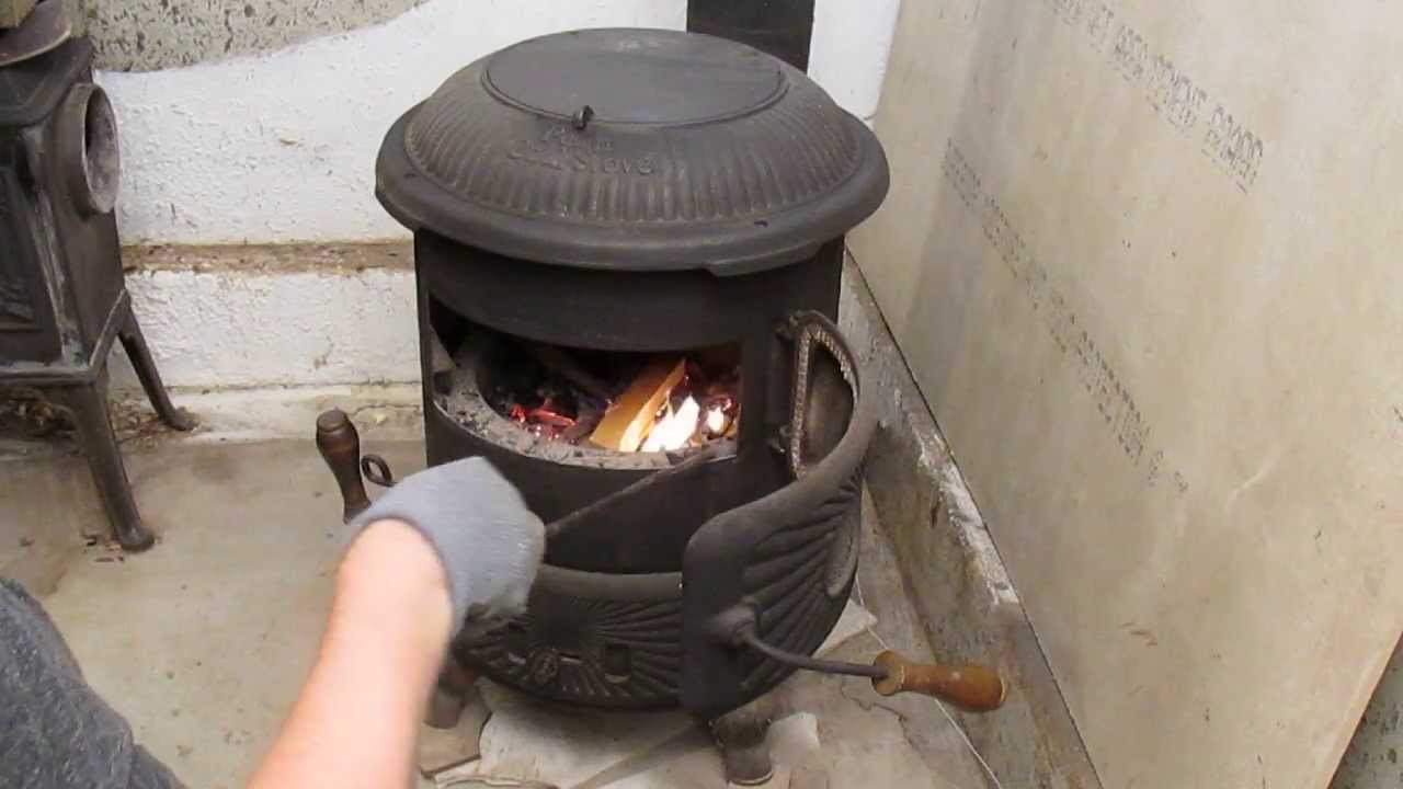 Penn coal stove part 1 of 5 youtube for How to make a small stove