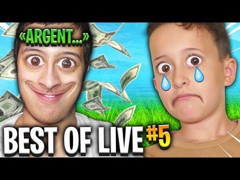 IL AVOUE UTILISER SON PETIT FRÈRE POUR L'ARGENT ! BEST OF LIVE #5