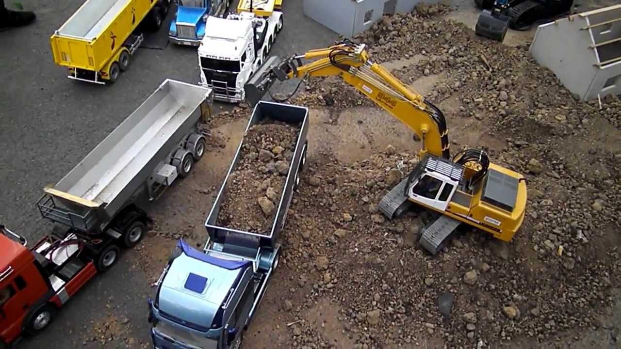 Video De Camion De Chantier : camion et engin de chantier rc valencienne 2013 youtube ~ Medecine-chirurgie-esthetiques.com Avis de Voitures