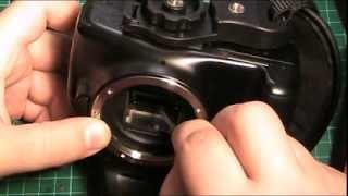 Инструкция по замена экрана фокусировки Canon 1100d(, 2014-02-11T07:18:55.000Z)