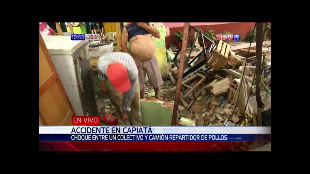 Download Terrible accidente en Capiatá deja dos mujeres heridas