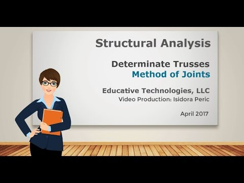truss analysis method of joints pdf