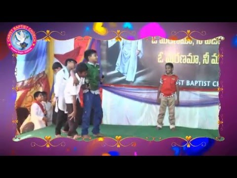 telugu christian skit cbc-children