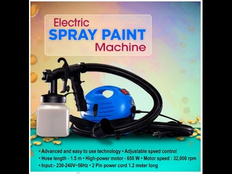 Naaptol Ki Pathshala | Electric Spray Paint Machine