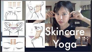 Skincare Yoga, Combination of Face Yoga & Face Shiatsu for Beautiful Skin!