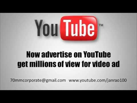 YouTube advertising India by janrao grandson inc
