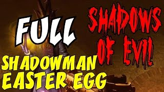 "THE SHADOWMAN EASTER EGG COMPILATION ★ ""How to Save the World: 1 Step at a Time!"" BO3 ZOMBIES"
