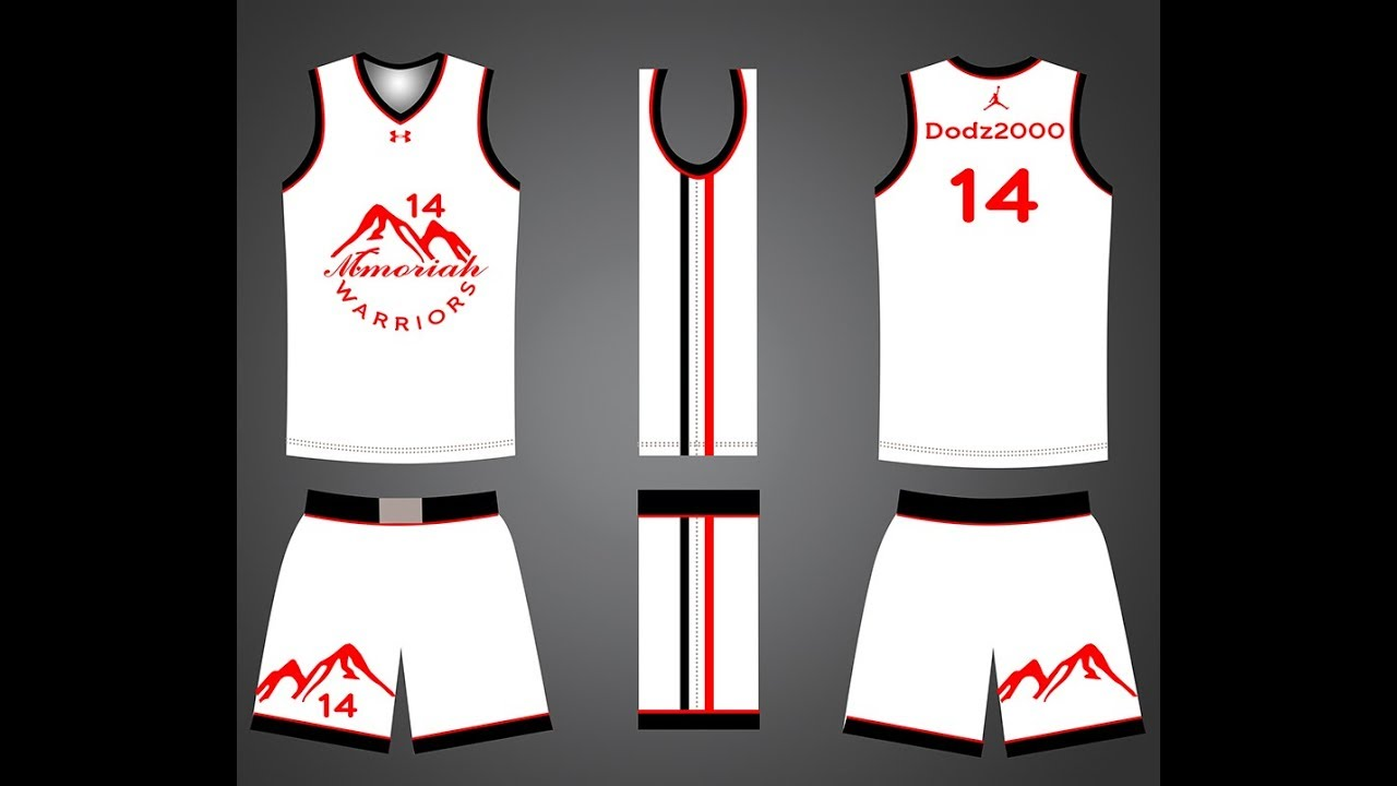 Basketball Jersey Template In Photoshop Cc 2015 Youtube