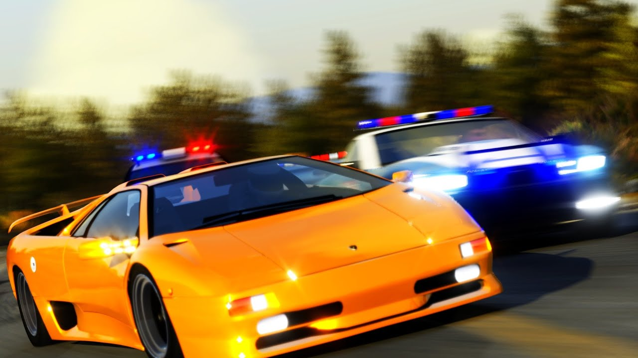 Watch Need For Speed Hot Pursuit 2 S Intro Remade In Trackmania