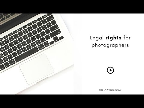Legal rights for photographers
