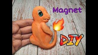DIY magnet Charmander (Pokémon)☺️