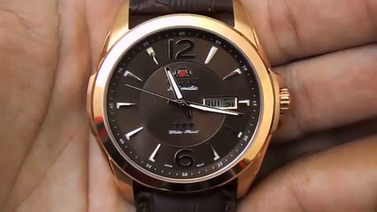 05875855a9a Relogio Masculino Orient Automatico 469rp050 - YouTube