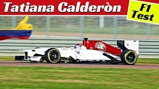 Tatiana Calderòn & Sauber-Alfa Romeo C32 Formula 1 Test (V8 Sound!) - Fiorano Circuit - 17/11/2018