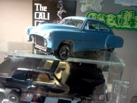 1951 chevy deluxe lowrider model - YouTube