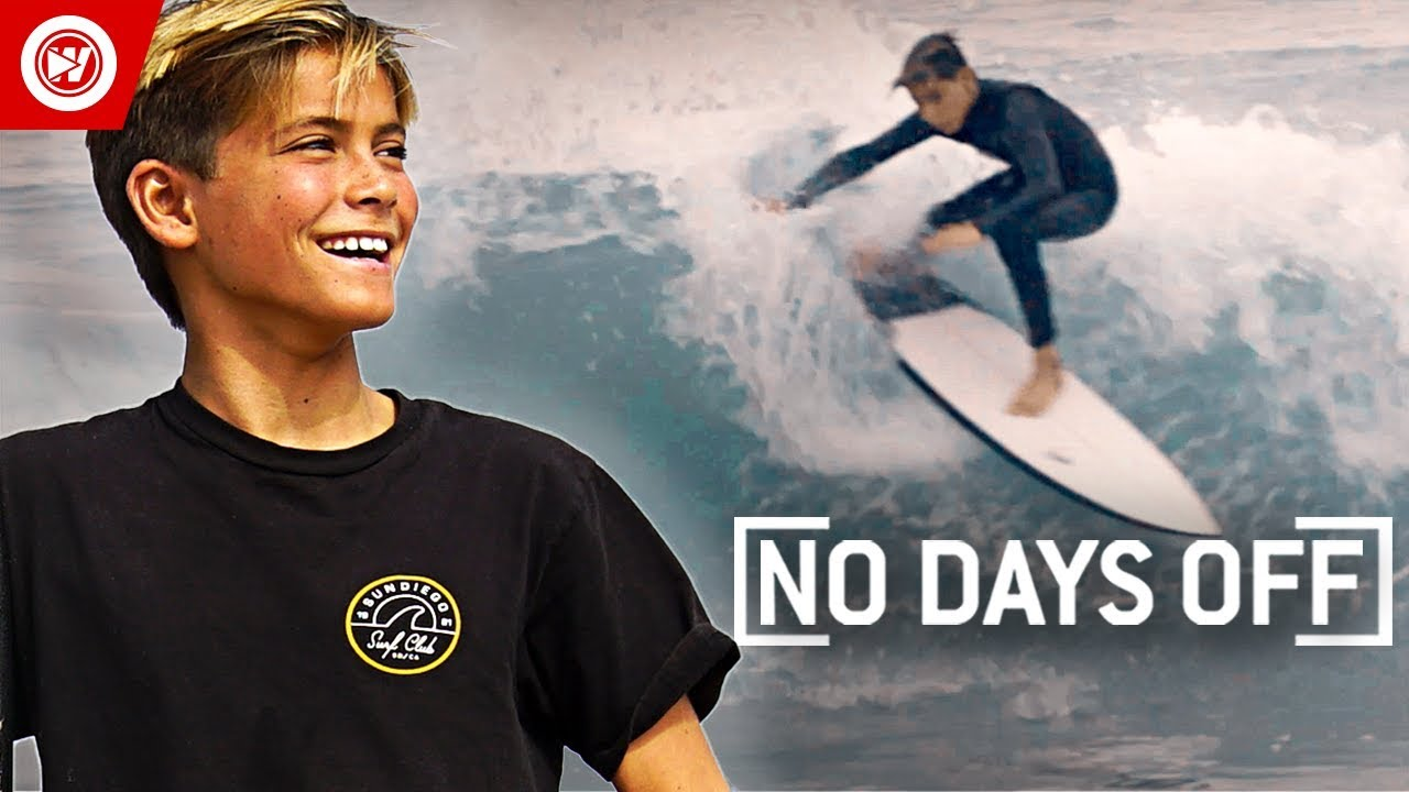 13 Year Old Fearless Surfing Prodigy Youtube