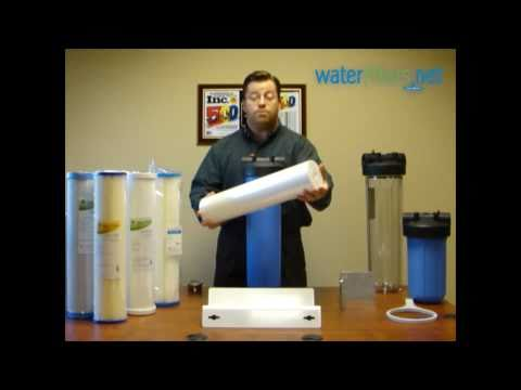 Untreated Well Water Filter System