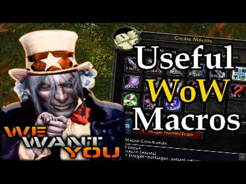 Useful Wow Macros 1 Mass Guild Invites Whispers Combat Log Fix Emote Spam