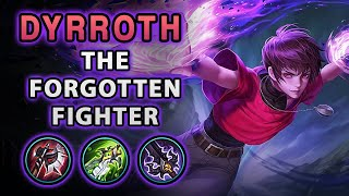 I Finally Decided To Play The Forgotten Fighter Dyroth | Mobile Legends